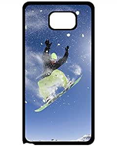 Lora Socia's Shop 2015 New Style Hard Case Cover - Snowboarding Samsung Galaxy Note 5 phone Case 9007545ZF182219816NOTE5