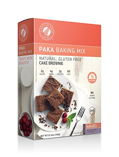 Diabetic Friendly Cake Brownie Mix: Gluten Free  NonGMO Low Net Carb amp Calorie Desserts  Healthy Chocolate Snacks Treats 1 Box