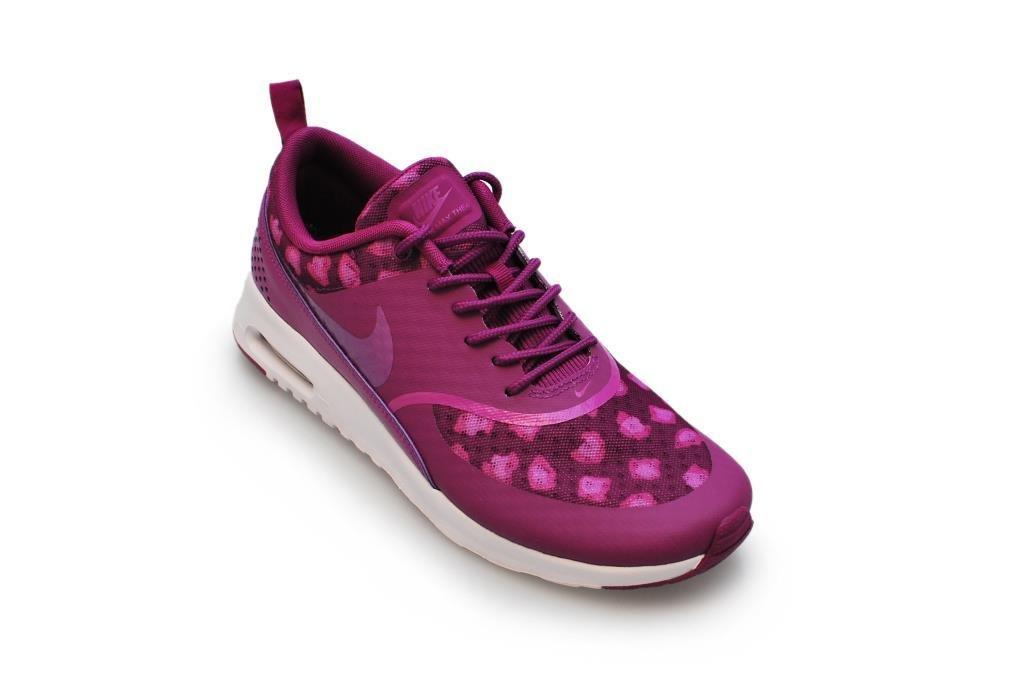 Donna Air Max Thea Stampa addestratori correnti delle scarpe da tennis 599408 (UK 5.5 Us 8 Eu 39, Bo