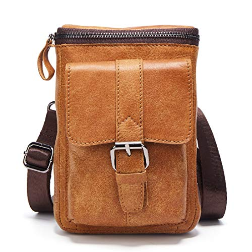 D'affaires Cuir En Taffetas Brown Dos Simple Bandoulière À Brown Scolaire Épaule Voyage Mkulxina Sac color IUxqwgI8