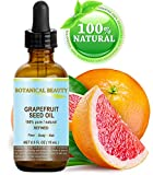 "GRAPEFRUIT SEED OIL. 100% Pure / Natural / Undiluted /Refined COLD PRESSED CARRIER OIL (Not Essential Oil). 0.5 Fl.oz.- 15 ml. For Skin, Hair and Lip Care. ""One of the richest natural sources of vitamin A ,C & E and natural fruit enzymes."""