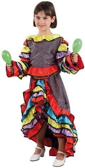 DISBACANAL Disfraz de Samba Chica - -, 6 años: Amazon.es: Juguetes ...