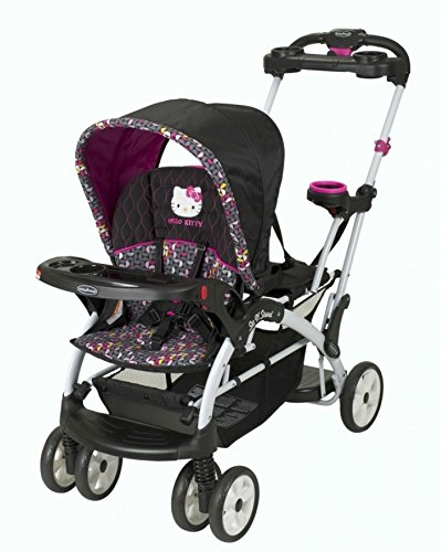 Baby Trend Sit And Stand Stroller Pink - 3