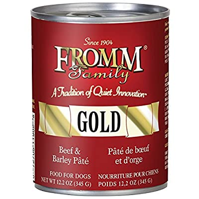 Fromm Beef and Barley P?t? 12/12.2 Ounce Cans
