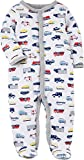 Carter's Baby Boys' Baby Boys Snap up Transportation Cotton Sleep and Play 3 Months