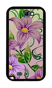 Purple Flowers #2 - Case for Samsung Galaxy Note 2 Kimberly Kurzendoerfer