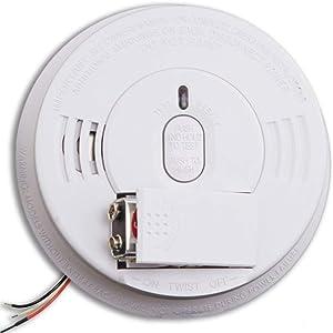 Kidde i12060 AC DC Hardwired Smoke Alarm Ionization Battery Backup