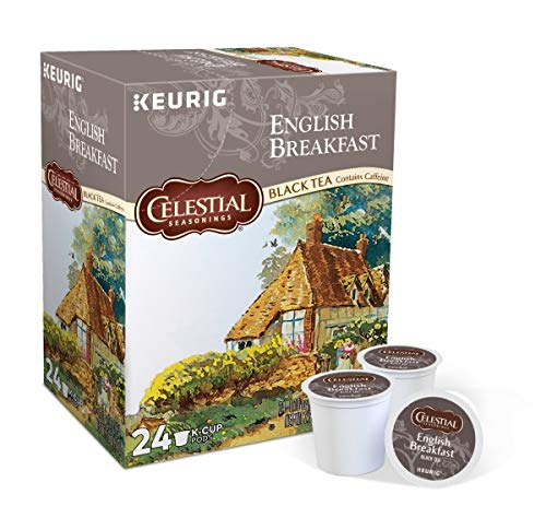 Celestial Seasonings, English Breakfast Black Tea, K-Cup Portion Pack for Keurig K-Cup Brewers (Pack of 48)