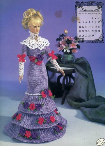(Miss February 1996 Afternoon Gown (Annie's Calendar Bed Doll Society, 7902))