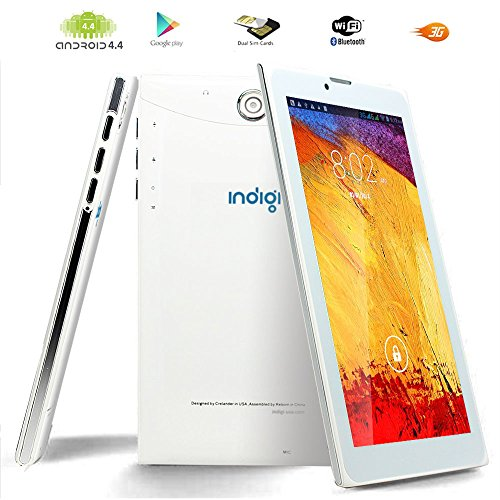 "Indigi UltraSlim 7"" Phablet 3G Smart CellPhone Tablet PC 8GB Google Play Store GPS WiFi"