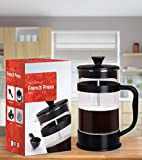 French Coffee Press (Black) - 34 oz Espresso and Tea Maker...