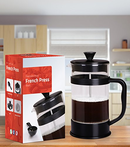 French Coffee Press - 34 oz Espresso and Tea Maker with Triple - Import It All