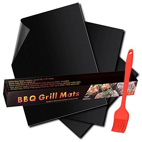 tidy grill bbq grill mat - 8