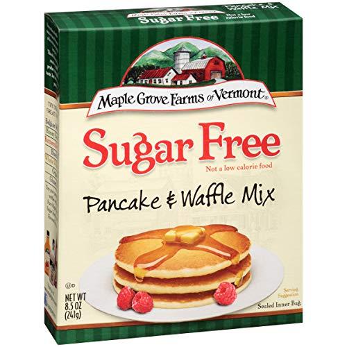 Maple Grove Farms Pancake & Waffle Mix, Sugar Free, 8.5 Ounce