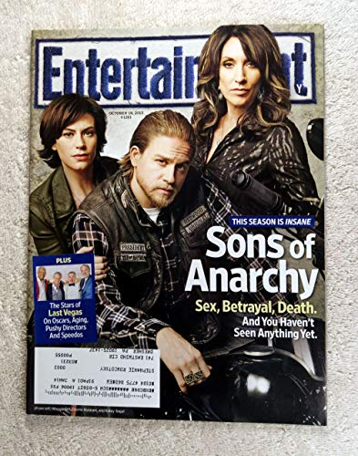 Maggy Siff, Charlie Hunnam & Katey Sagal - Sons of Anarchy - Entertainment Weekly - #1281 - October 18, 2013