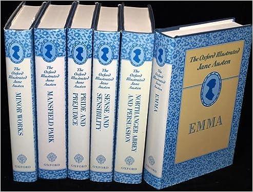 The Oxford Illustrated Jane Austen 6 Volume Set Amazon Books