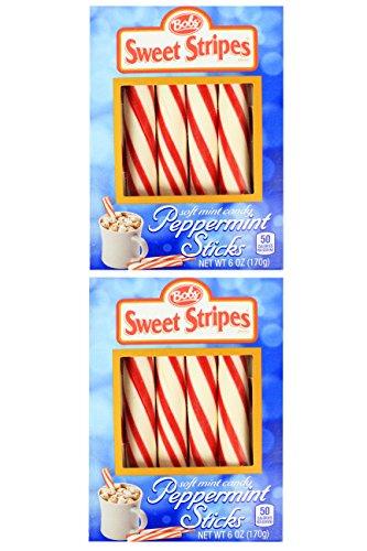 (Bobs Blue Sweet Stripes Peppermint Sir Sticks 6 OZ (2 Pack))