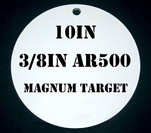 10in AR500 Shooting Target Pistol product image