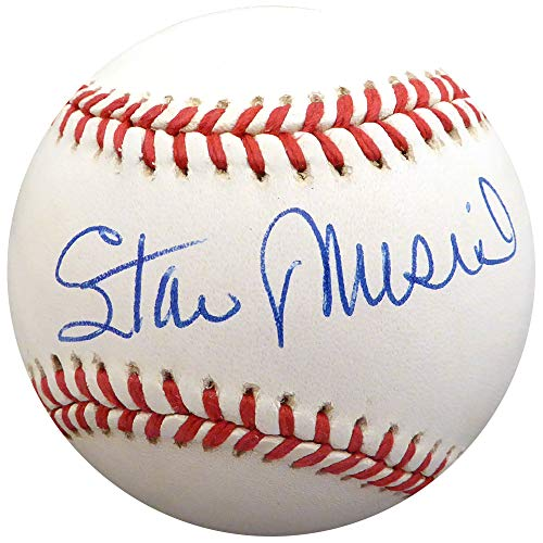 (Stan Musial Autographed Signed Memorabilia Official Nl Baseball St. Louis Cardinals - Beckett Authentic)