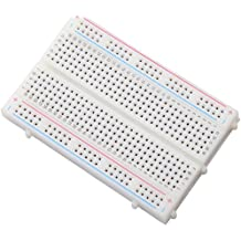 Qunqi 400 tie point Experiment Mini Breadboard 5.5×8.2×0.85cm