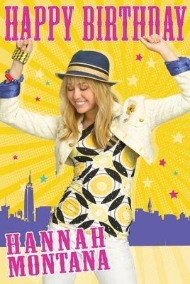 Hannah Montana - Birthday Card 9x6