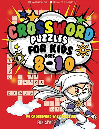 r Kids Ages 8-10: 90 Crossword Easy Puzzle Books (Crossword and Word Search Puzzle Books for Kids) (Volume 7) (Crossword Puzzle Books For Kids)