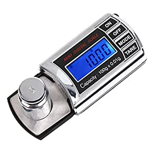 Hrph 0.01g-100g Mini Digital Pocket Scale Precision Balance LCD