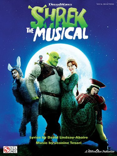 Shrek The Musical Vocal Selections Pvg by Various (3-Nov-2009) Sheet music (Sheet Music Book Pvg)