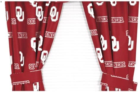 College Covers NCAA Printed Curtain Panel Pair Size: 42″ X 84″
