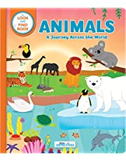 Animals: A Journey Across the World (Litte Detectives): A Look-and-Find Book