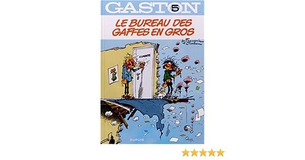 Gaston tome le bureau des gaffes en gros amazon books