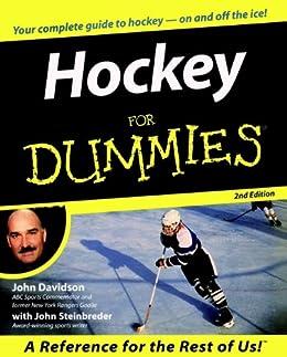 Hockey For Dummies by [Davidson, John, Steinbreder, John]