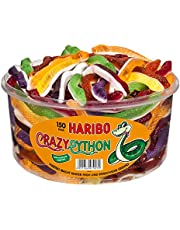 Haribo Crazy Python, Fruit Jelly, Wine Gums, Jelly Bears, 150 pieces, 1050g, Box