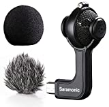 Saramonic G-Mic Stereo Ball Microphone with Foam & Furry Windscreens for GoPro HERO3 - HERO3+ and HERO4