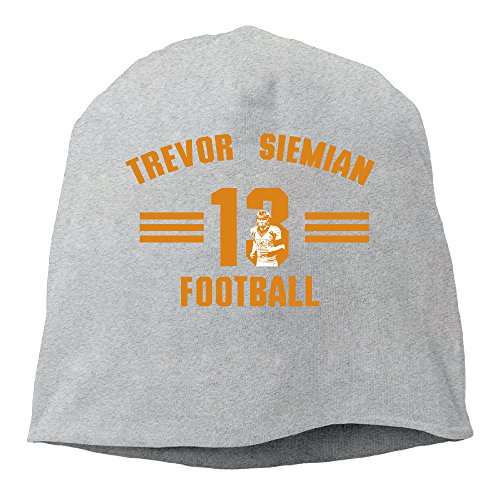 [YUVIA Trevor Siemian Men's&Women's Patch Beanie GolfAsh Hats For Autumn And Winter] (Trevor Halloween Costume)