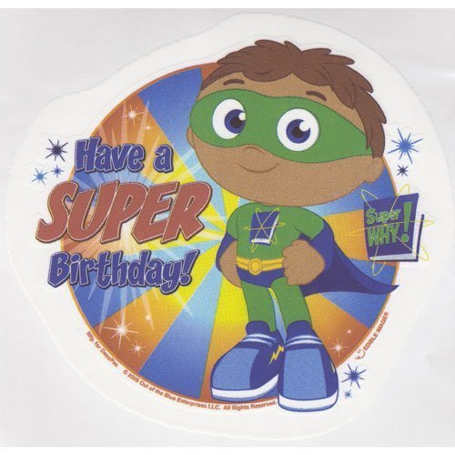 Super Why Edible Cake Image Birthday Party by DEC: Amazon.es ...