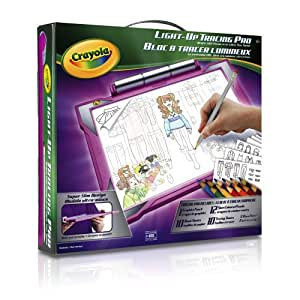 Crayola Fashion Dress Up Light Up Tracing Pad Drawing Sketching Tablets Amazon Canada