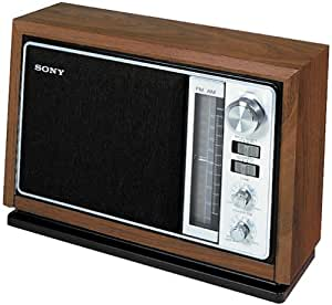 sony icf 9740w am fm table radio discontinued by manufacturer home audio theater. Black Bedroom Furniture Sets. Home Design Ideas