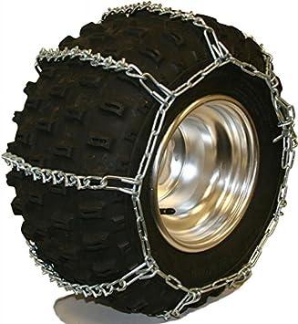 Quality Chain 5.5mm Link V-Bar ATV UTV Snow Traction Tire Chains ATV-C