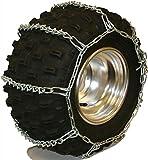 Quality Chain 5.5mm Link V-Bar ATV UTV Snow Traction Tire Chains (ATV-B)