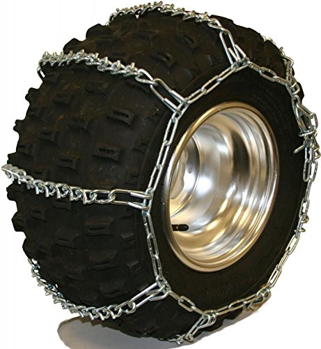 Quality Chain 5.5mm Link V-Bar ATV UTV Snow Traction Tire Chains (ATV-B)