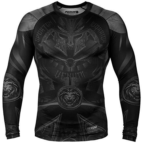 Men's Gladiator 3.0 Rashguard-Long Sleeves Black-M