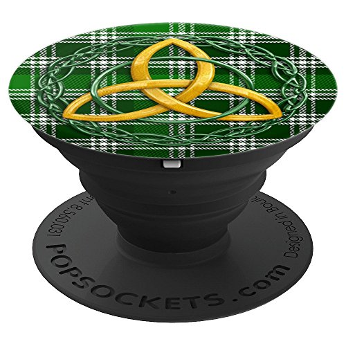 (Celtic Trinity Ancient MacDonald Of The Isles Tartan Plaid - PopSockets Grip and Stand for Phones and)