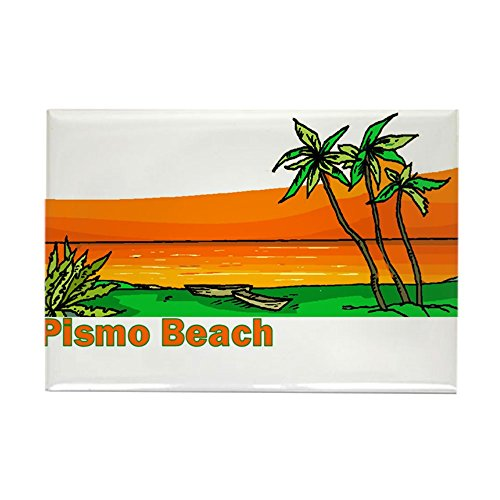 CafePress - Pismo Beach, California - Rectangle Magnet, 2