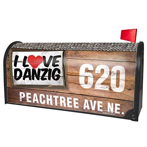 NEONBLOND Custom Mailbox Cover I Love Danzig -