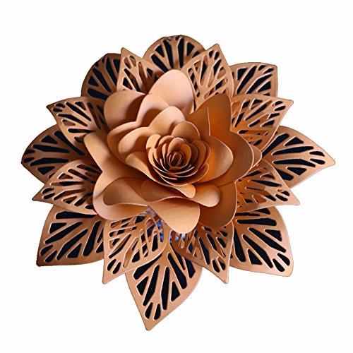 (callm Metal Cutting Dies Stencil Card Making Dies Lace Flower Mould Template for DIY Scrapbooking Embossing Die Cuts Scrapbook Album Paper Card Making (F))