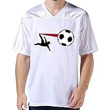 LFD Men's Soccer American Football Jerseys White