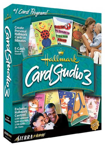 Hallmark Card Studio 3.0 (Jewel Case)