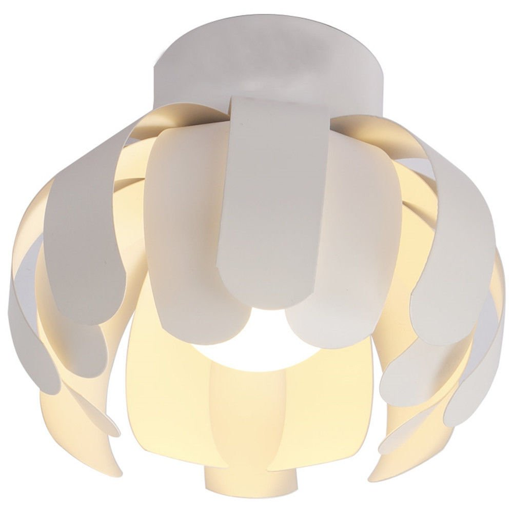 MEIHOME Deckenleuchten LED Flower Form Treppen Korridor 23 CM 7 W drei Farbdimmungstechnik Deckenlampe für Schlafzimmer Wohnzimmer Küche Badezimmer