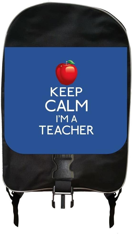Keep Calm Im a Teacher-Blue Backpack and Pencil Case Set